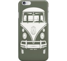 VW BUS, 1950-2013  iPhone Case/Skin