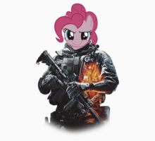 Pinkie Pie War Pony by Tlasan