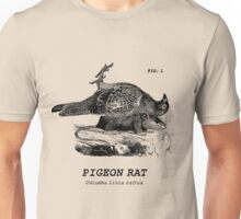 The almighty Pigeon Rat Unisex T-Shirt