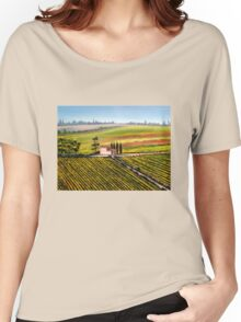 Tuscan Tranquility Women's Relaxed Fit T-Shirt