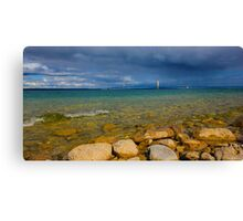 Five Mile Bridge Canvas Print