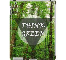 Think Green iPad Case/Skin