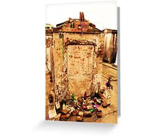 Tomb of Marie Laveau Greeting Card