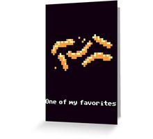 Monkey Island - Cheese squigglies Greeting Card