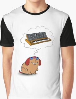 The Moog thinks of Moog Graphic T-Shirt