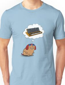 The Moog thinks of Moog Unisex T-Shirt