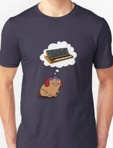 The Moog thinks of Moog T-Shirt