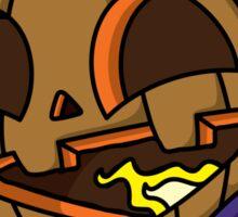 Cute Monster 3 Sticker