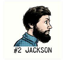 #2 Jackson Art Print