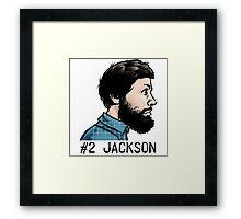 #2 Jackson Framed Print