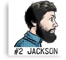 #2 Jackson Metal Print