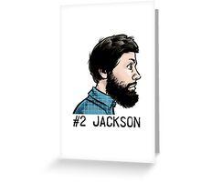 #2 Jackson Greeting Card