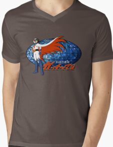 Gatchaman Ken The Eagle Mens V-Neck T-Shirt