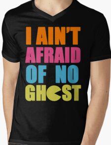 I Ain't Afraid Mens V-Neck T-Shirt