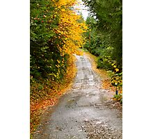 Road to No Where - Ernie Dickey Photographic Print