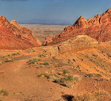 Ute landscape IV by zumi