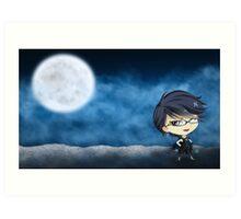 Chibi Bayonetta Art Print
