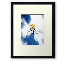 Chibi Archangel Framed Print
