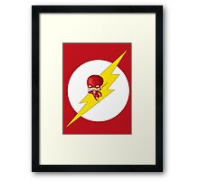 Chibi Flash Framed Print