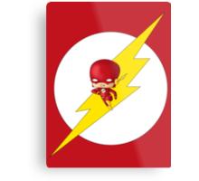 Chibi Flash Metal Print