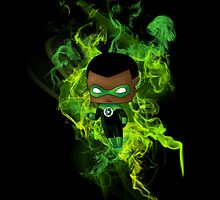 Chibi Green Lantern by artwaste