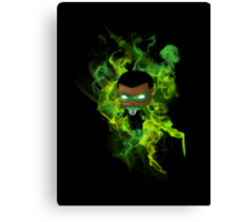Chibi Green Lantern Canvas Print