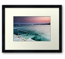 Merewether Steps Framed Print