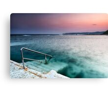 Merewether Steps Canvas Print