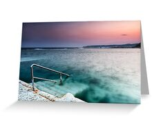 Merewether Steps Greeting Card
