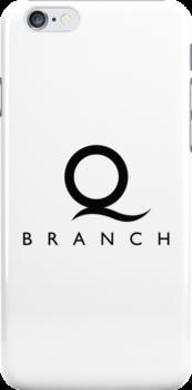 Q Branch Black Logo by Christopher Bunye