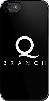 Q Branch White Logo by Christopher Bunye