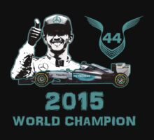 Lewis Hamilton, 2015 Formula 1 F1 drivers World Champion by superpixus