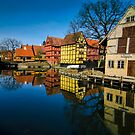 The old town of Aarhus by Andrea Rapisarda