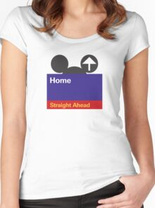 Goin' Home Women's Fitted Scoop T-Shirt