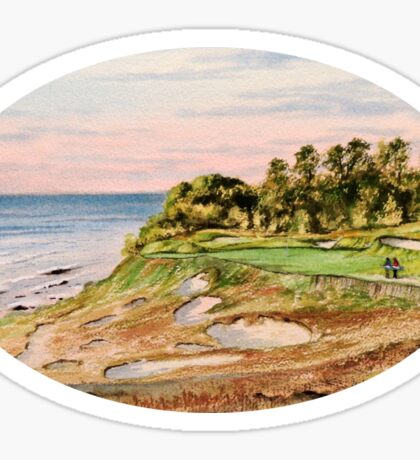 Whistling Straits Golf Course Sticker