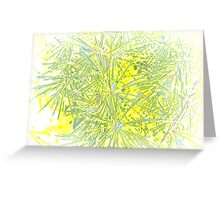 Abstract nature 5 Greeting Card
