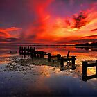 Gorokan Jetty Sunrise by Arfan Habib