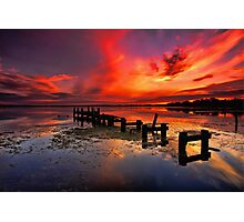 Gorokan Jetty Sunrise Photographic Print