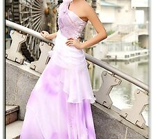 Primodels Review-To be a nice princess with elegant evening dress by primodels