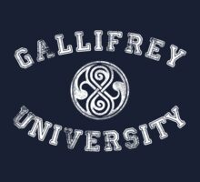 Gallifrey University One Piece - Long Sleeve