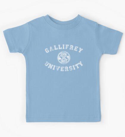 Gallifrey University Kids Tee