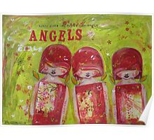 Little Girls are Little Angels Poster