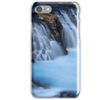 The Blue Waterfalls iPhone Case/Skin