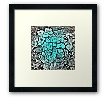 BlueWood Framed Print