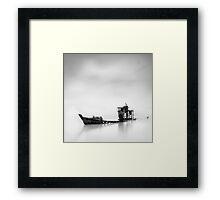 Sunken Dream Framed Print