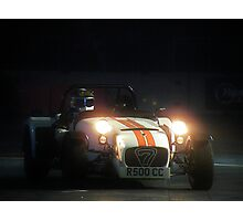 The Stig at Top Gear Live 2012 in a Caterham 7 Photographic Print