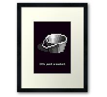 Monkey Island - Bucket Framed Print