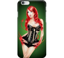 Sinful Beauty iPhone Case/Skin
