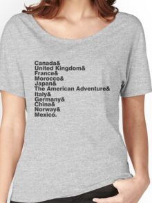 The World Showcase Women's Relaxed Fit T-Shirt