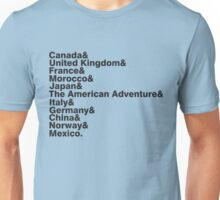 The World Showcase Unisex T-Shirt
